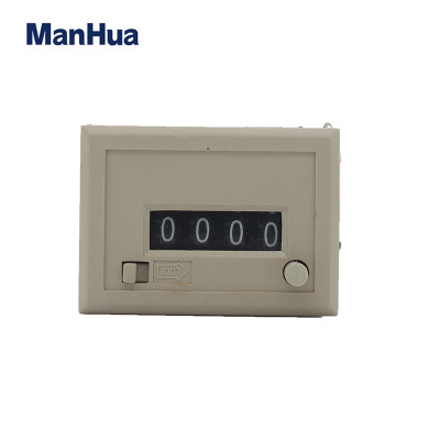 CSK4Y DC24V  Electromangenic Counter with Reset Botton Lock Counter