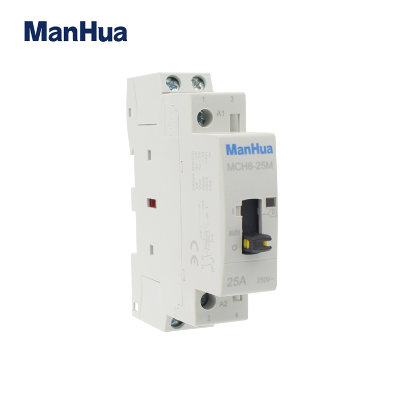 MCH8-25M 50HZ 25A 2p manual control contactor