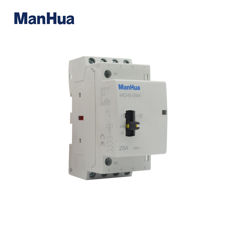 MCH8-25M 50HZ 25A 4p manual control contactor