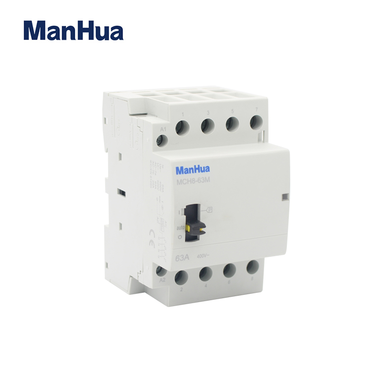 MCH8-63M 4P  manual control contactor