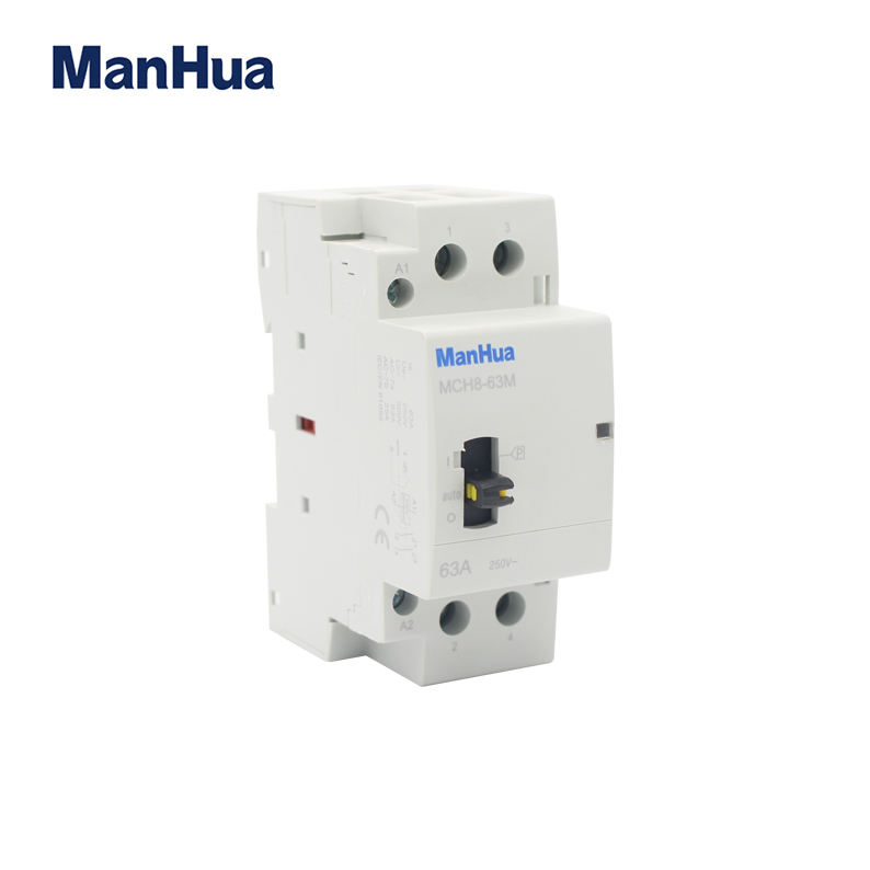 MCH8-63M 2P manual control contactor